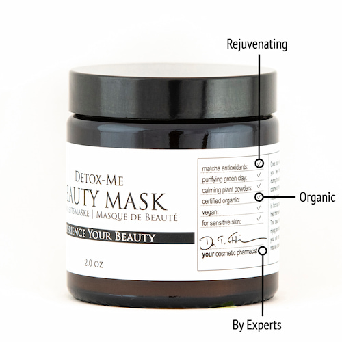 Derma ID Detox-Me Beauty Mask helps you as it is rejuvenating, organic, and formulated by experts