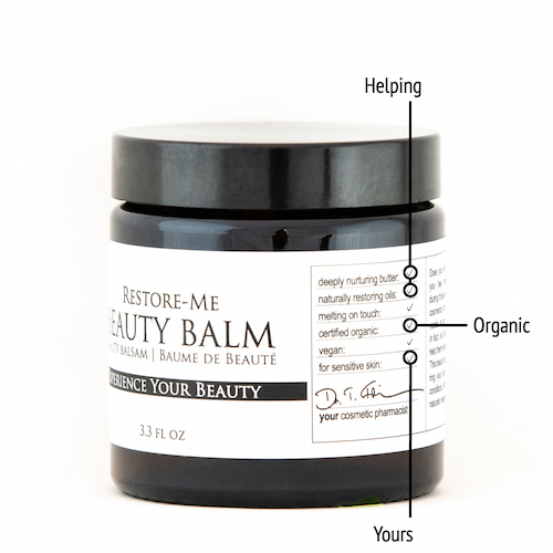 Derma ID Restore-Me Beauty Balm helps you because it naturally nourishes stressed skin and suits your skin's needs